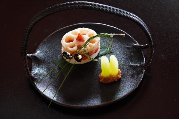 金目鯛の蓮焼き